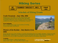 Click here to view Mountain Pursuits *before* the redesign